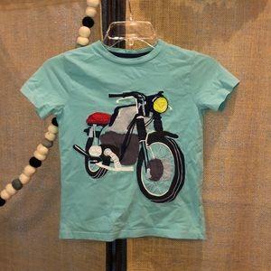 Mini Boden Motorcycle 🏍 Shirt Size 6-7
